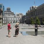 Gov't buildings in Santiago